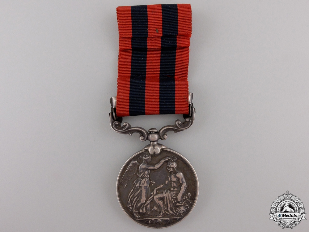 An India General Service Medal to the 6th Punjab Infantry