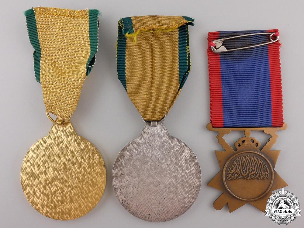 Three Iraqi Medals & Awards
