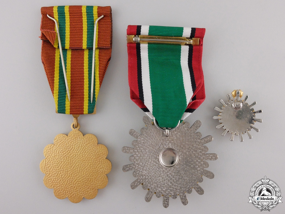 Three Saudi Arabian Medals and Awards