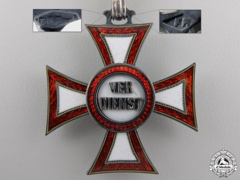 An Austrian Military Merit Cross by Rothe