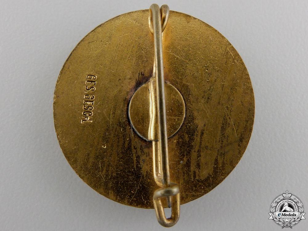 An NS-RKB Veteran Forty Year Membership Badge