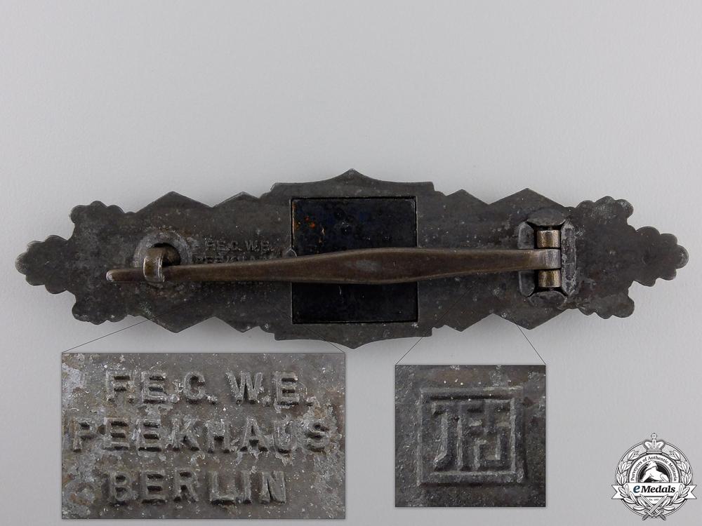 A Bronze Grade Close Combat Clasp by Josef Feix & Söhne, Gablonz