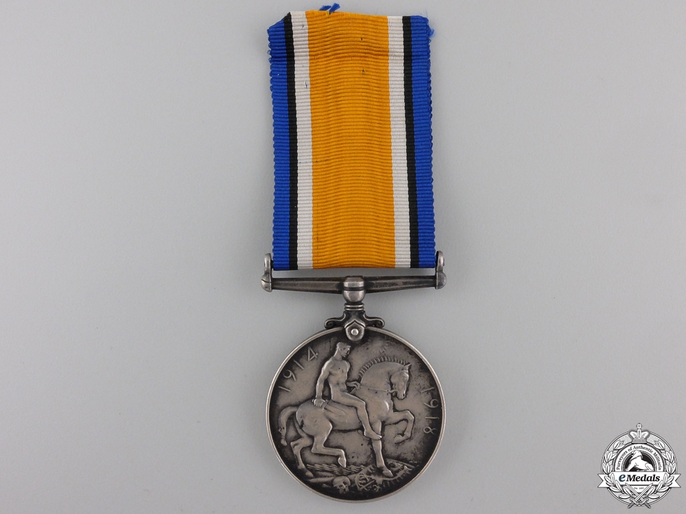 A First War Medal to the Canadian Overseas Railway Construction Corps
