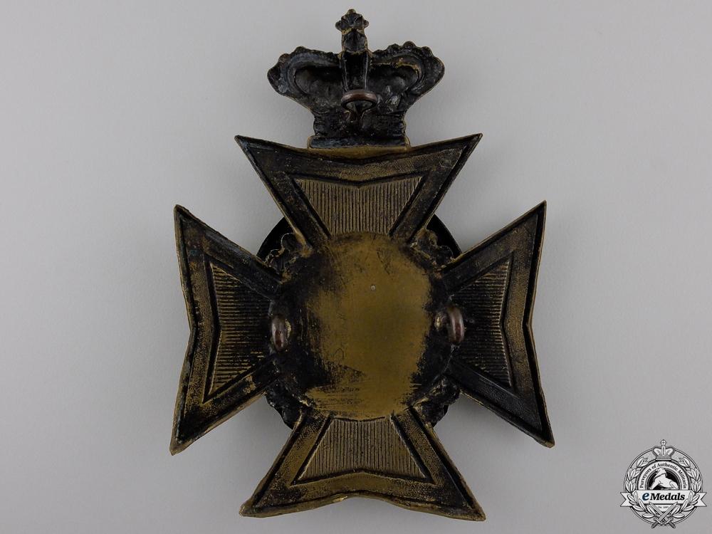 A Victoria 41st Brockville Battalion of Rifles Helmet Plate