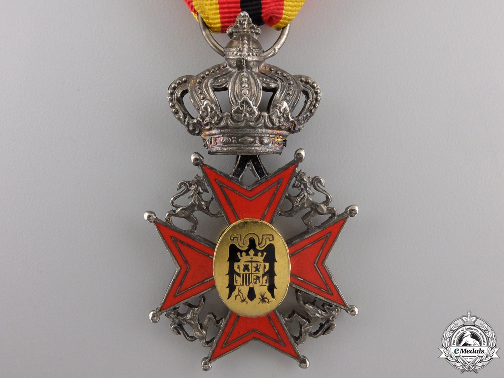 A Spanish Order of the Asociación Belgo-Hispánica; Officer