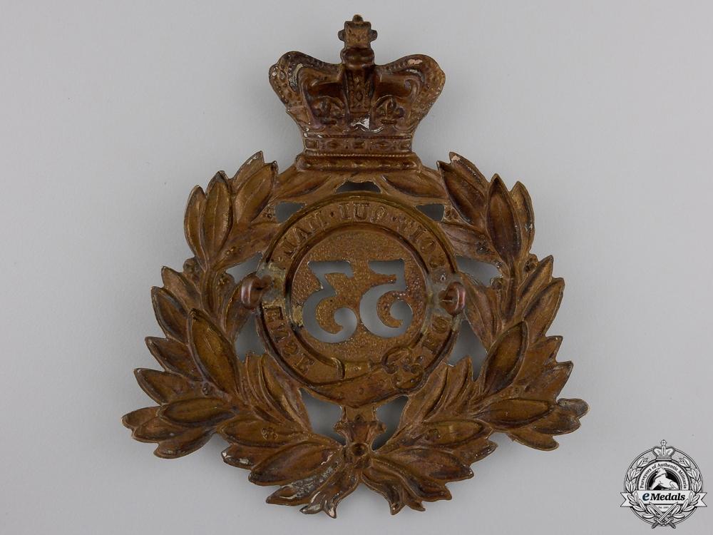 A Victorian  53rd Shropshire Regiment of Foot Helmet Plate
