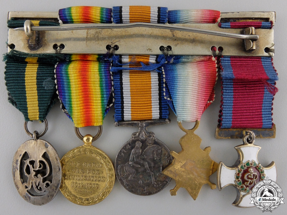 A First War Distinguished Service Order Miniature Grouping