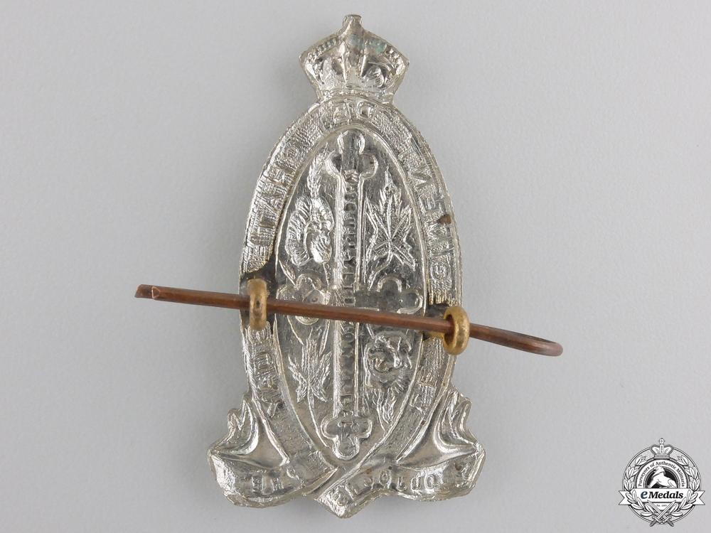 A Second War Le Régiment de Chateauguay Cap Badge