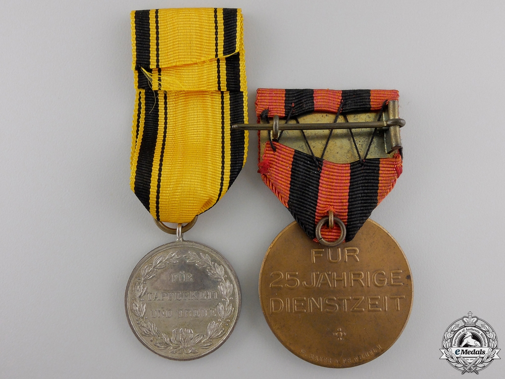 Two First War Period Wurttemberg Medals
