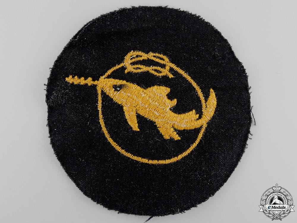 A Kriegsmarine Combat Badge Grade 1 of the Small Attack Craft