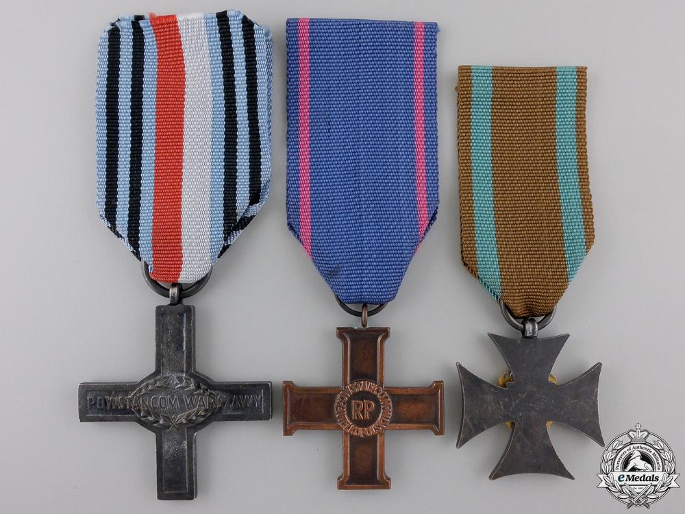 Three Polish Medals and Awards