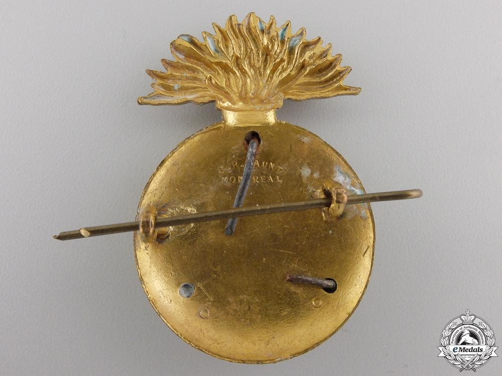 A Second War Edmonton Fusiliers (Machine Gun) Cap Badge
