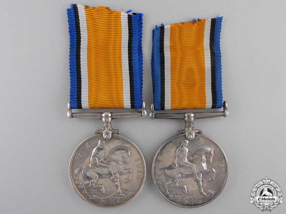 Two Canadian First War War Medals
