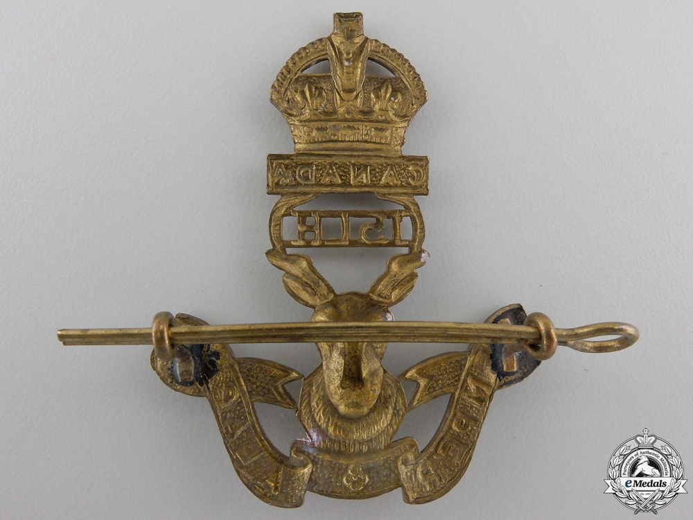 A Second War 15th Alberta Light Horse Cap Badge
