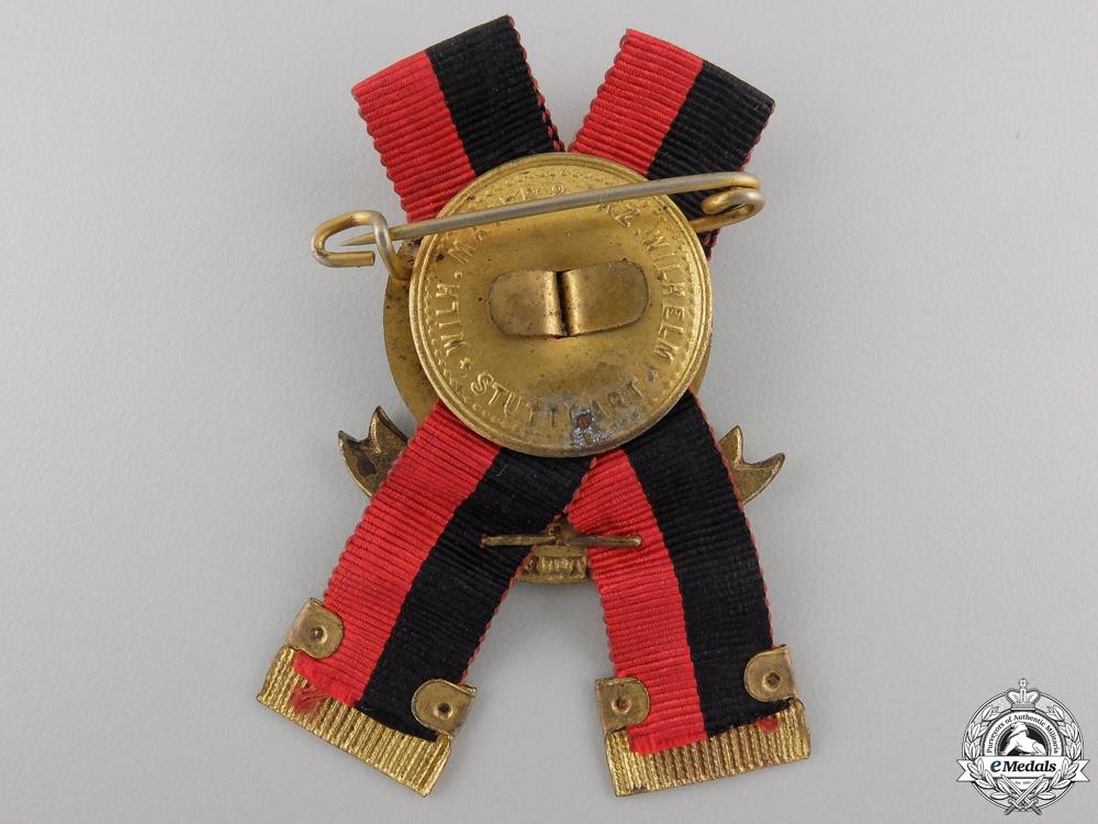 A Wurttemberg First War Veteran's Badge by Mayer