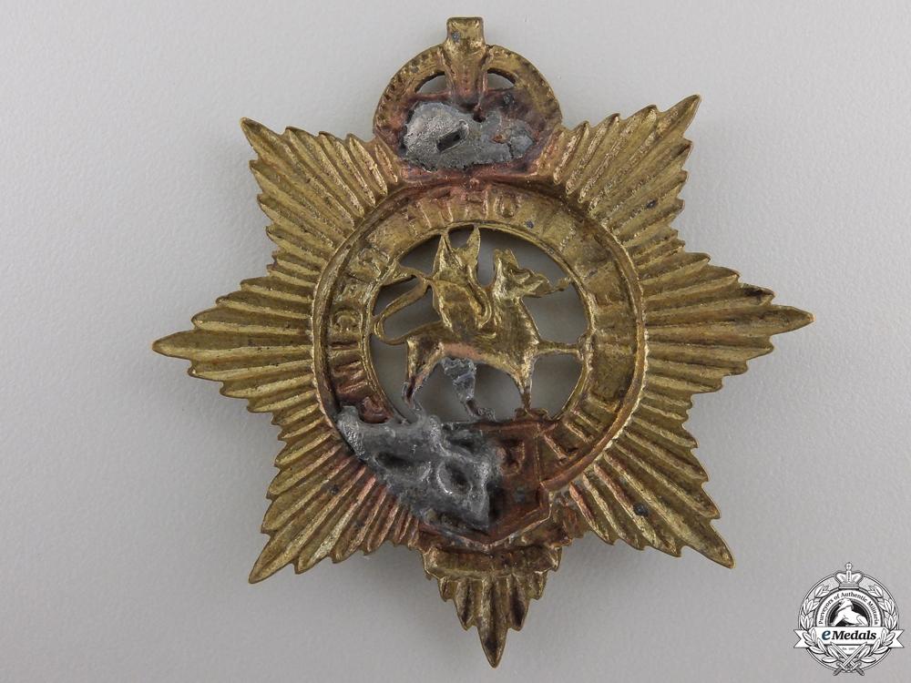 A Pre Second War Wentworth Regiment Cap Badge