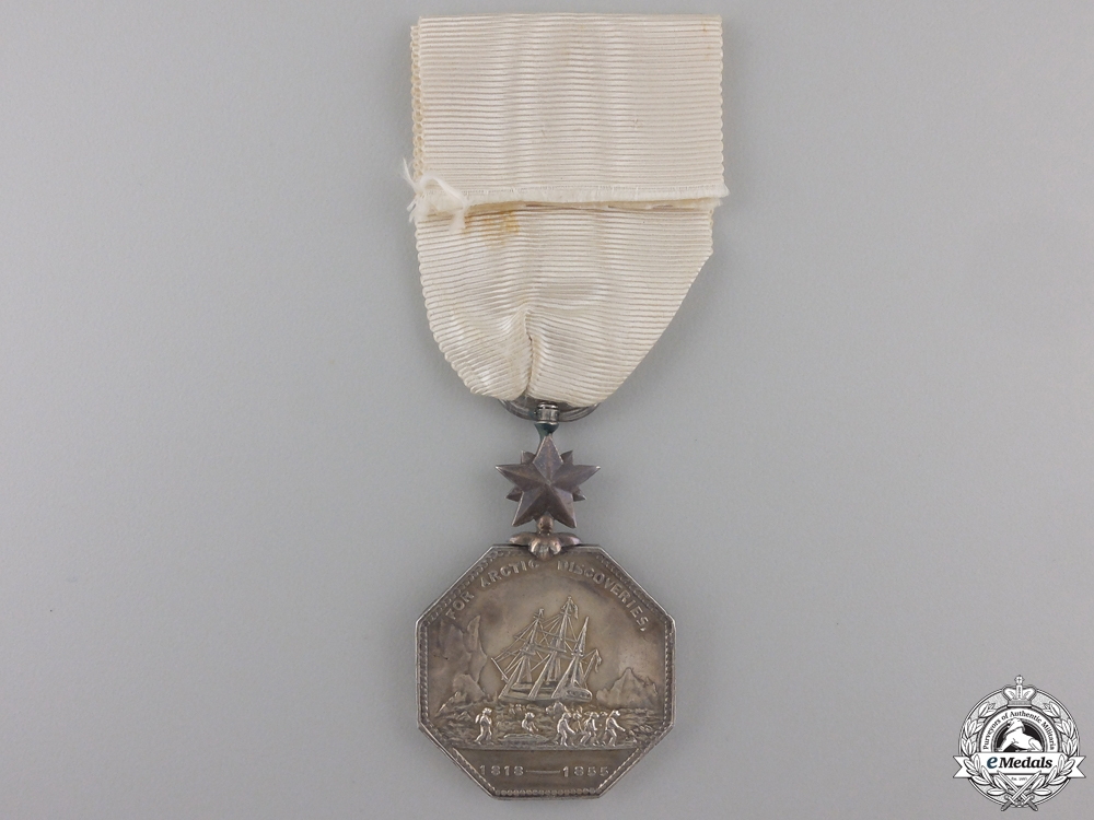 An 1857 Arctic Medal  Consignment #20