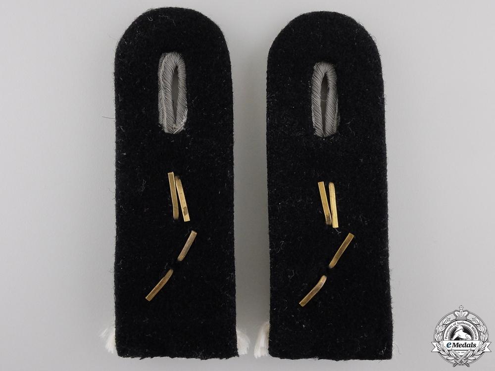 A Pair of SS-Obersturmführer Shoulder Boards