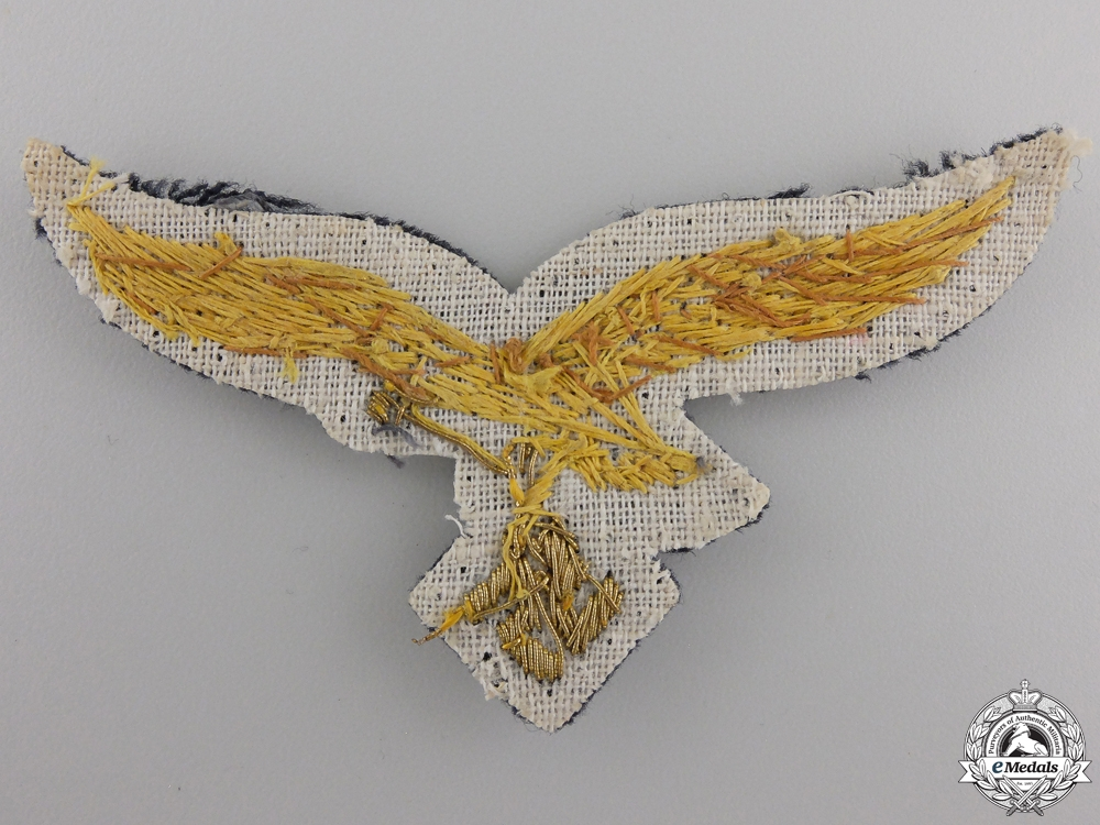 A Luftwaffe General's Breast Eagle; 2nd Pattern