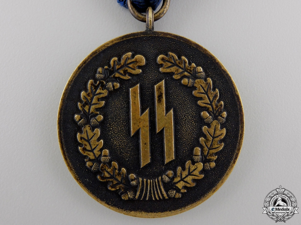 An SS Long Service Award; Fourth Class