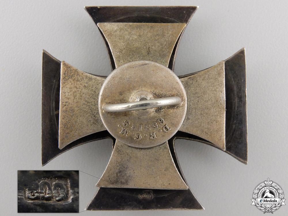A Fine Quality First War Iron Cross 1st Cl. 1914; 800 Silver