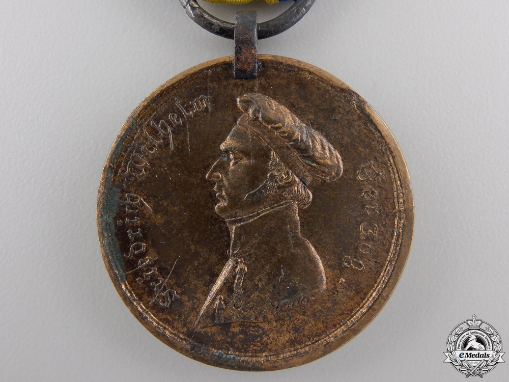 An 1815 Brunswick Waterloo Medal