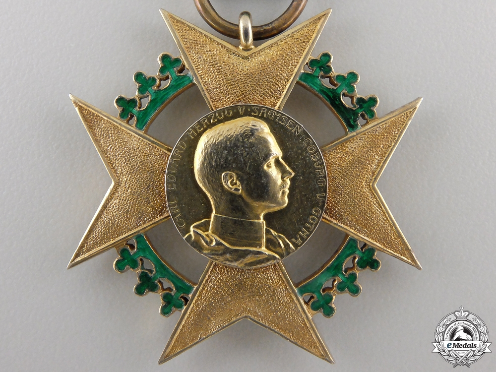 A Saxe-Coburg-Gotha, Honor Cross for Art & Science 1906-1918