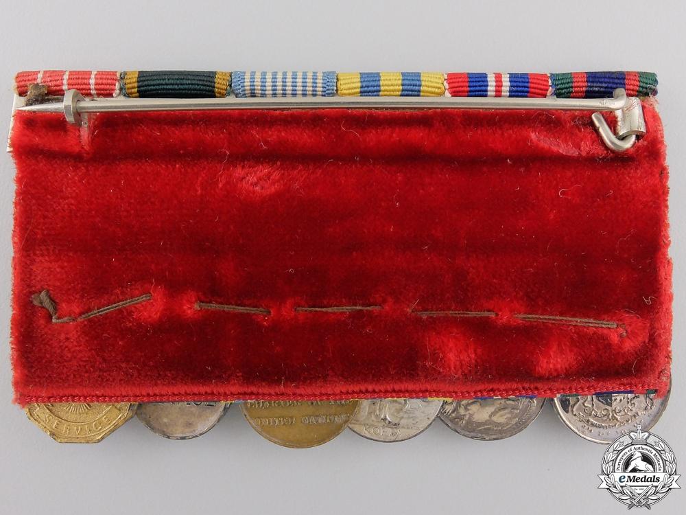 A Korean Service Miniature Canadian Medal Bar