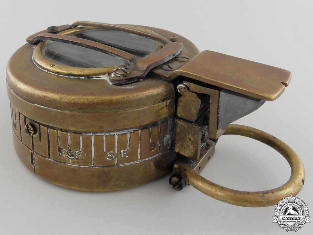 A 1944 Canadian MK III Prismatic Compass