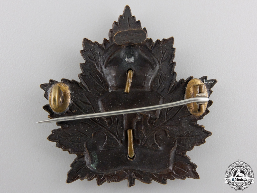 "A First War 1st Infantry Battalion ""Ontario Regiment"" Cap Badge"