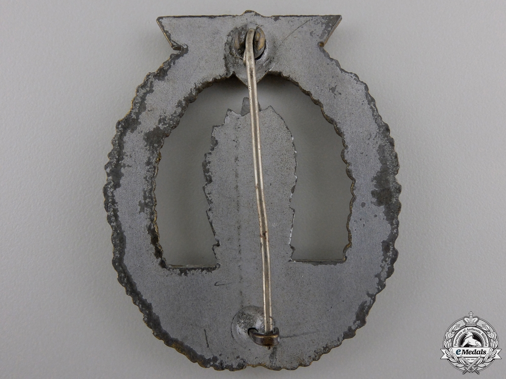 A Kriegsmarine Minesweeper Badge