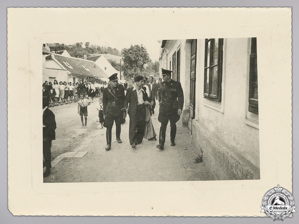 Four Croatian Second War Photos
