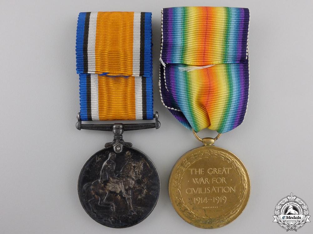A First War Pair to the Canadian Machine Gun Brigade