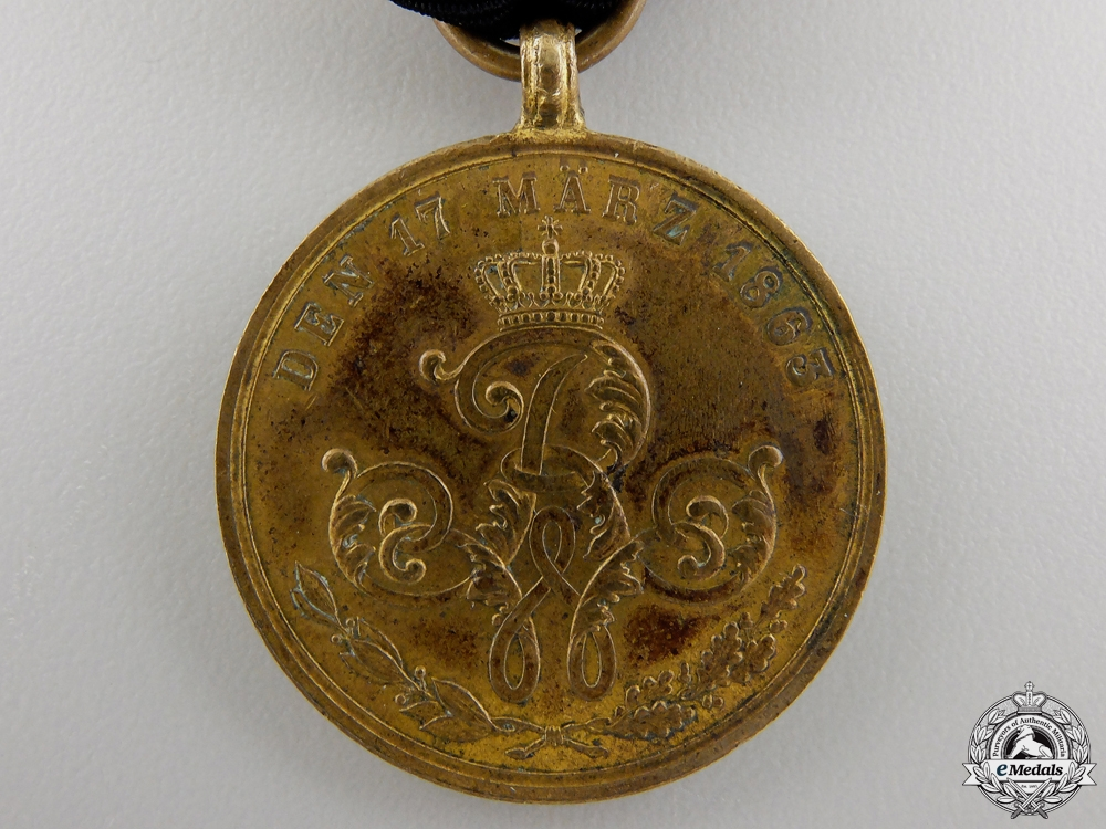 An 1863 Prussian Commemorative War Merit Medal
