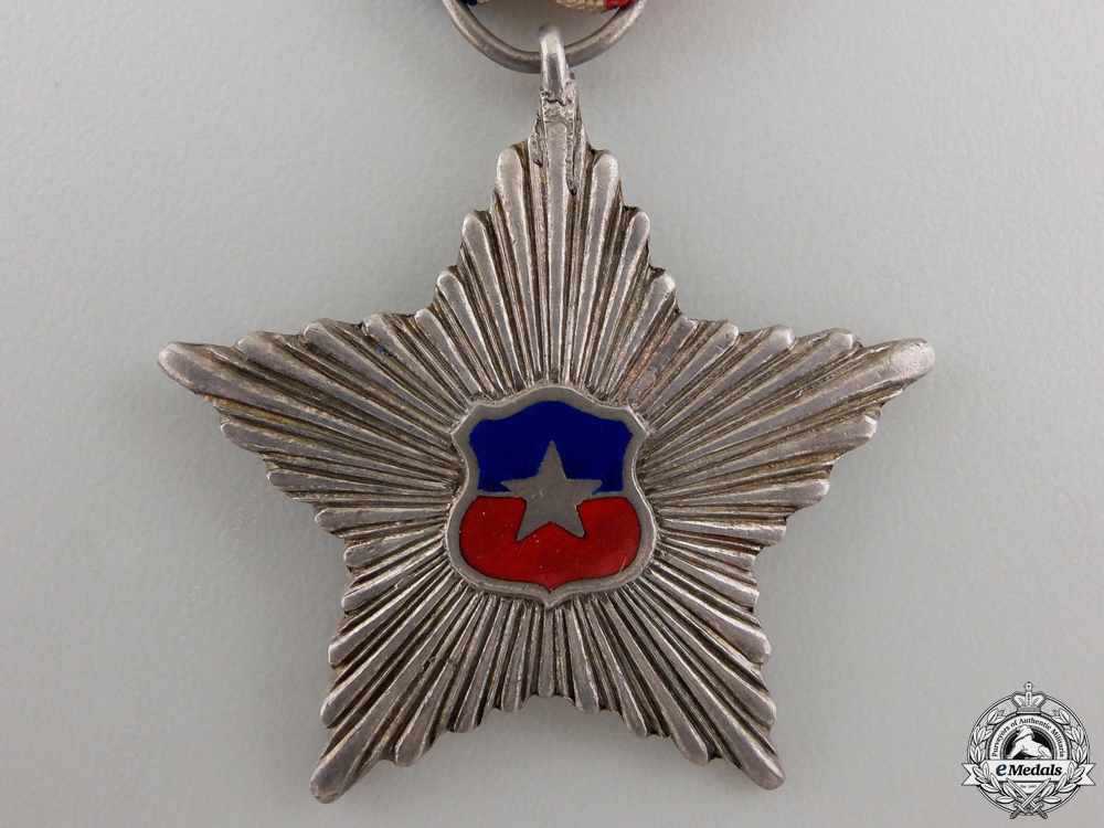 An Chilean Order of Civil Merit; Knight