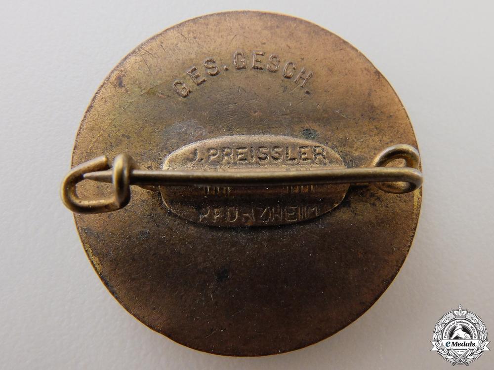 A Luftschutz Badge by J. Preissler