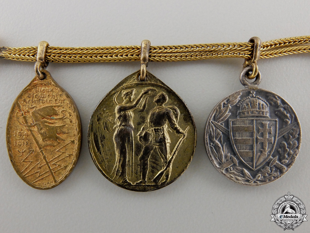 A First War German Imperial Miniature Medal Chain