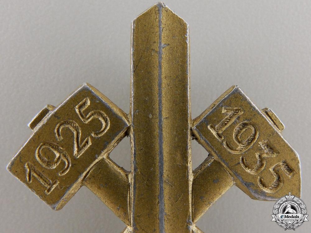 A GAU Essen Tinnie-Participant Badge