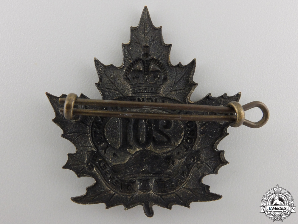 "A First War 201st Battalion ""Toronto Light Infantry"" Cap Badge"