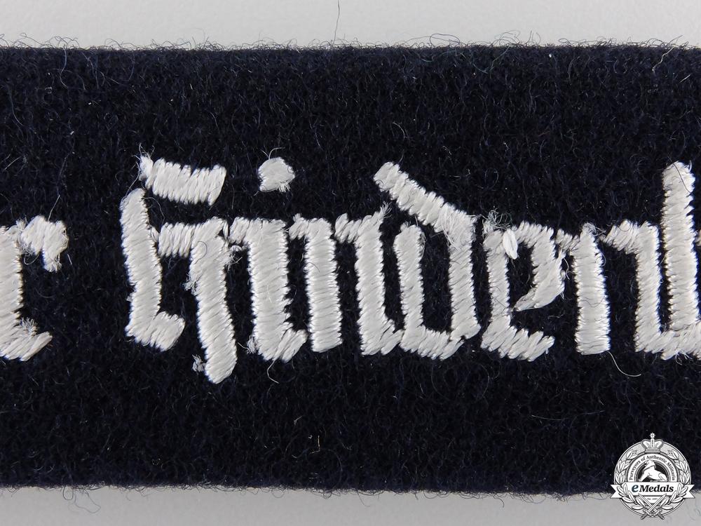 A Geschwader Hindenburg Cufftitle; 1957 Version