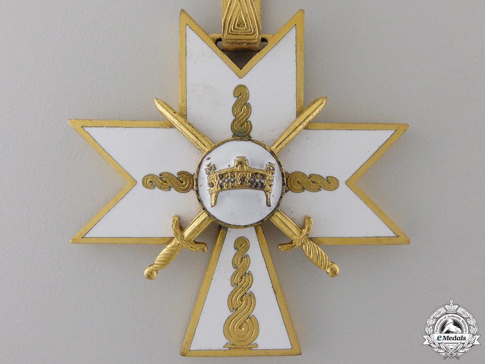 A Croatian Order of King Zvonimir with Swords; First Class