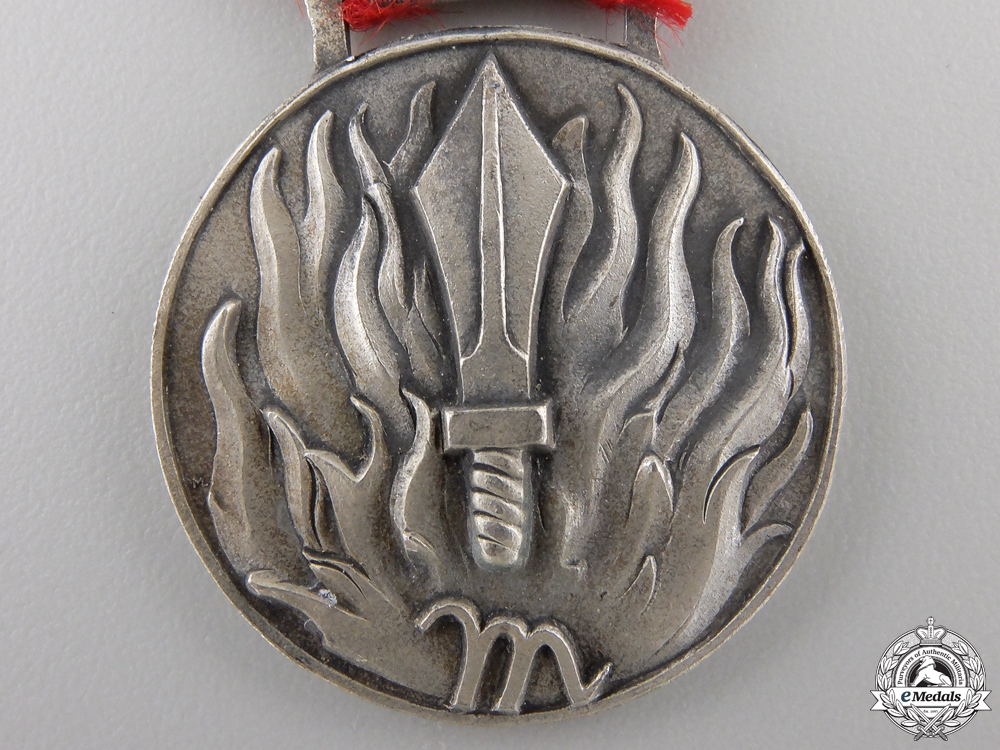 An Italian Fascist Medal for Meritorious Service