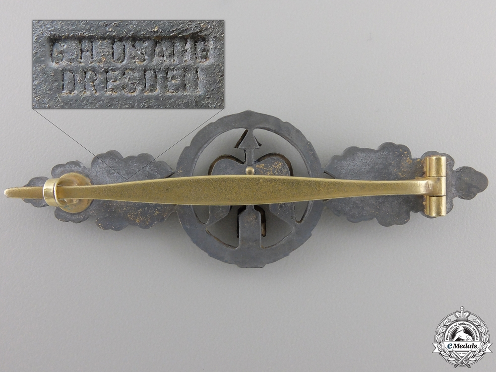 A Luftwaffe Short Range Day Fighter Clasp; Gold Grade