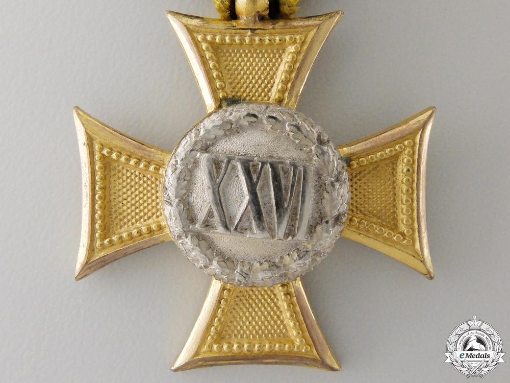 An Austrian Long Service Cross for 26 Years