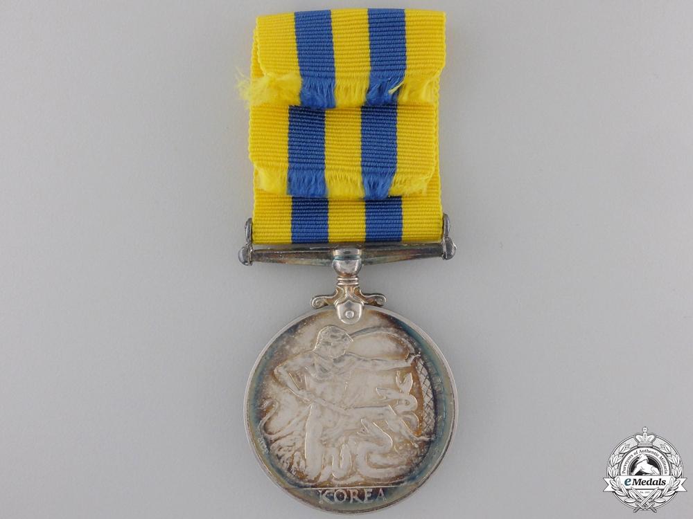 A Canadian Korea War Medal to J. Fortner