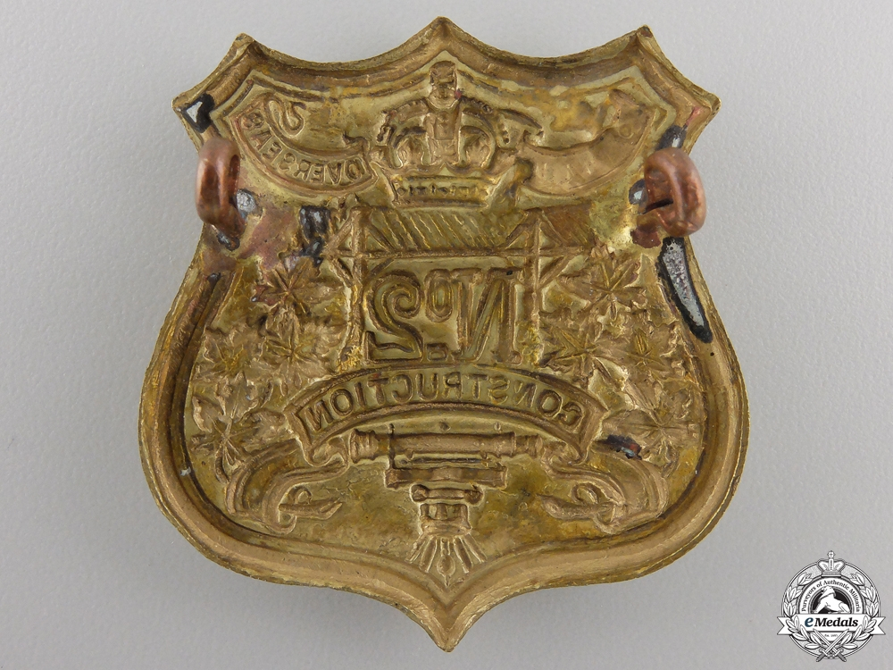 A First War No.2 Construction Battalion Cap Badge