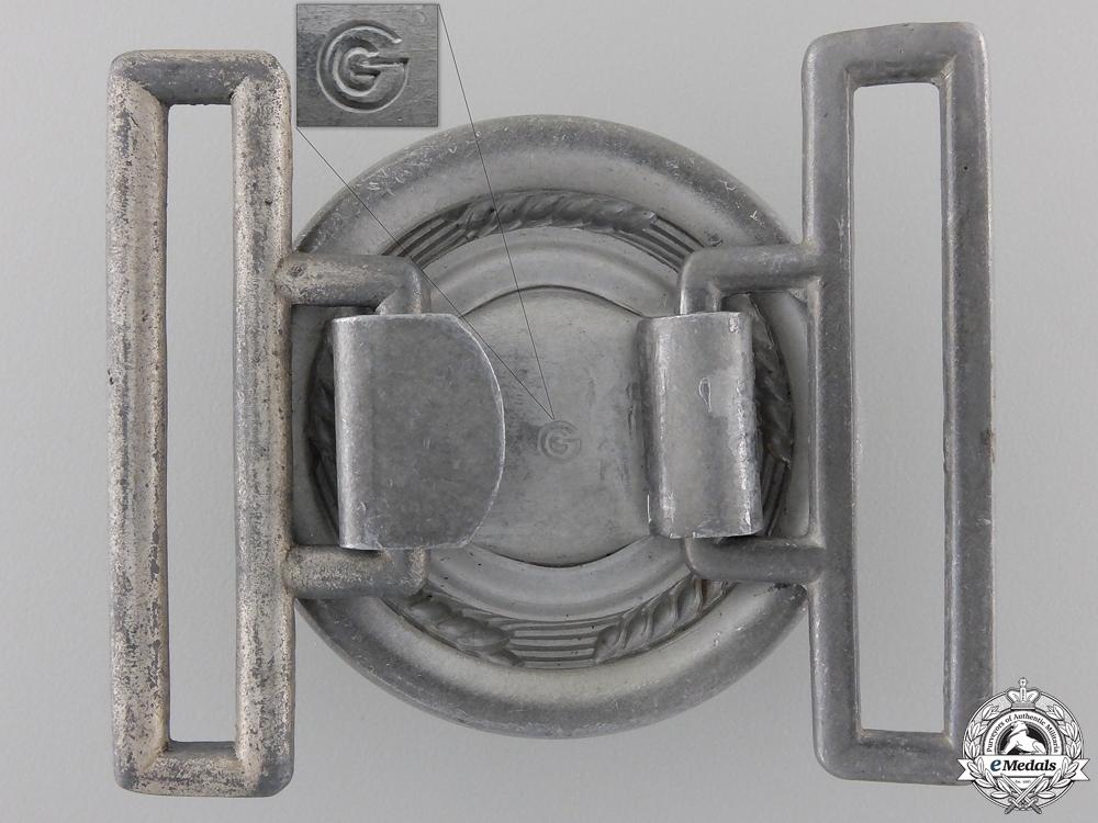 An RAD Leader's Belt Buckle