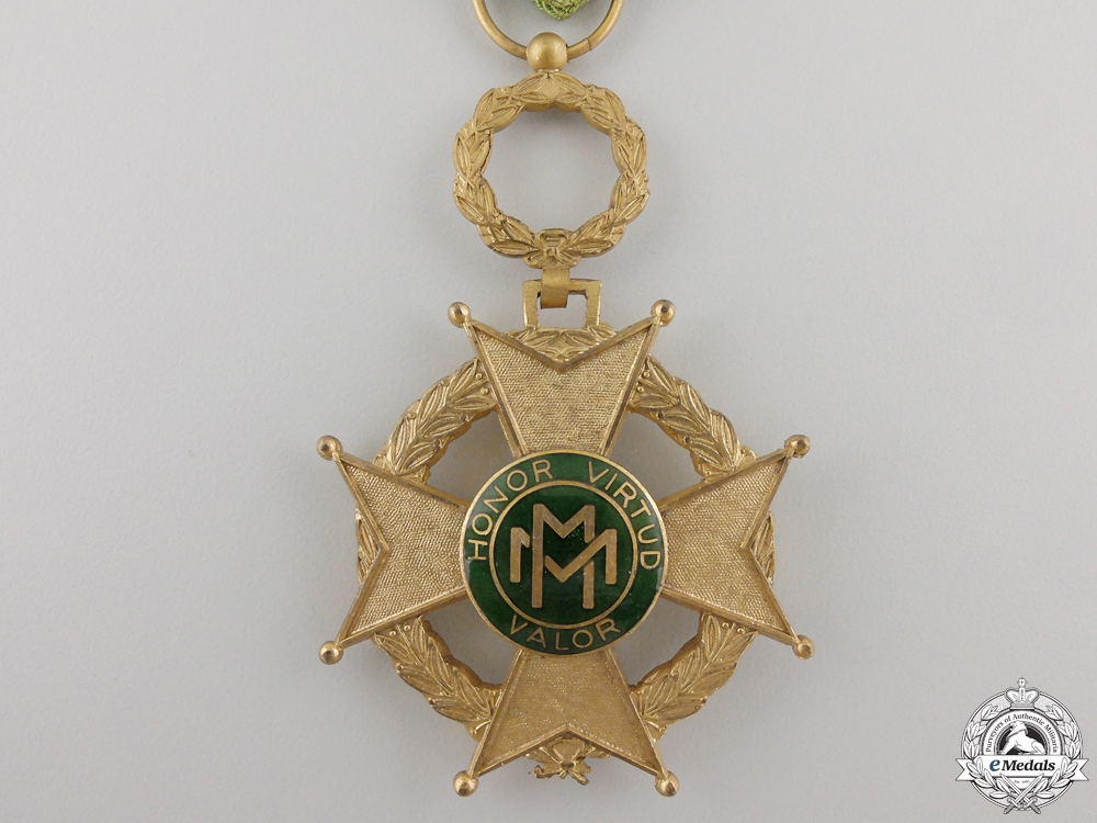 A Cuban Order of Military Merit; Fourth Class
