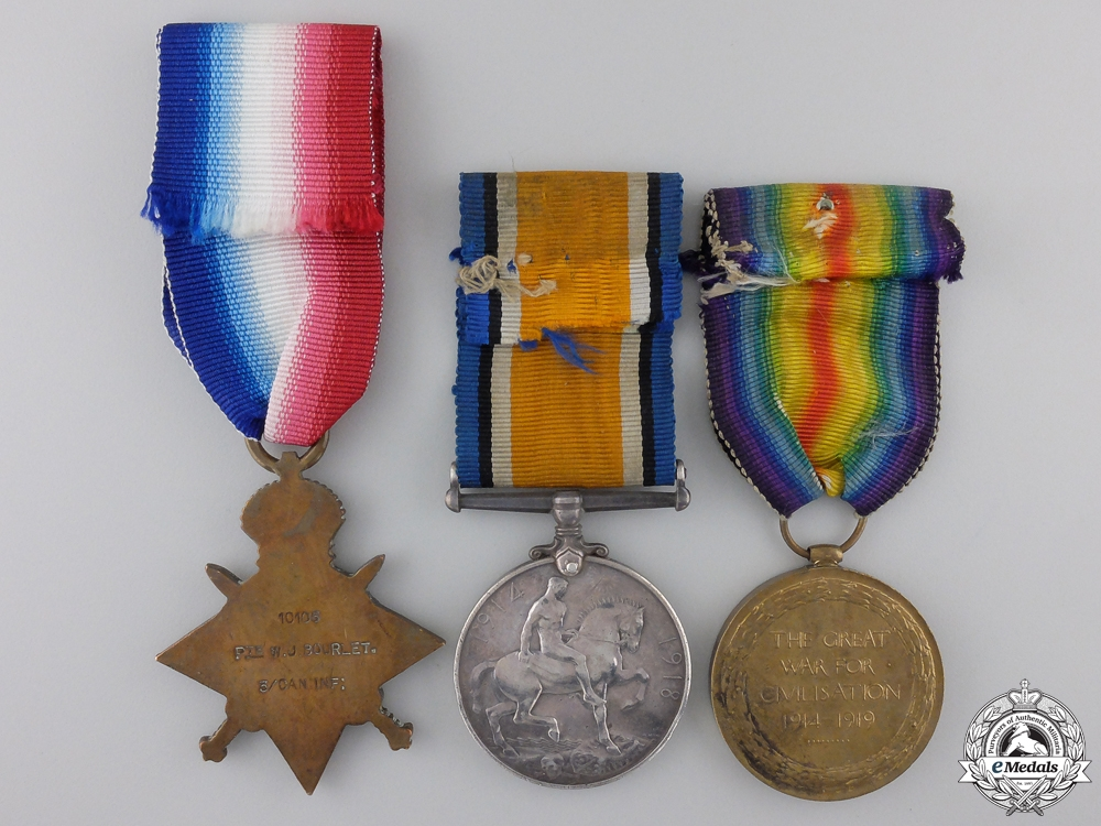 "A First War Trio to the 3rd Battalion ""Toronto Regiment"""