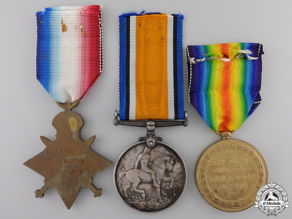 "A First War Trio to the 28th Battalion ""North West Regiment"""